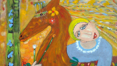 Le peintre et le modèle