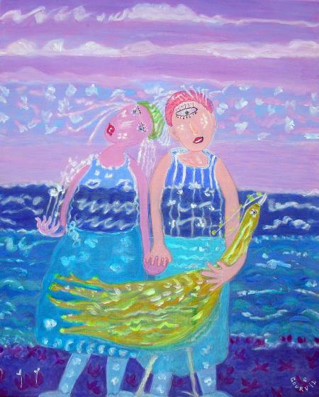 La traversée des vagues