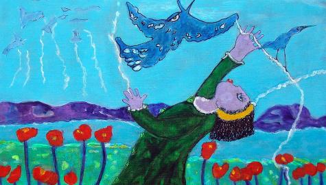 La marionnette et l'oiseau