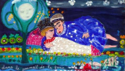Dans le sommeil de la lune