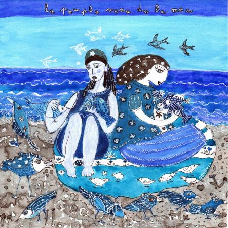 Dessin 7 – Le peuple venu de la mer